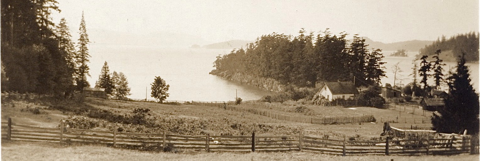 Pender Islands Roesland historic photo